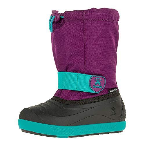 Kamik Jet Shoes Child Purple/Teal-Violet/Sarcelle Schuhgröße US 12   EU 30 2018 Schuhe