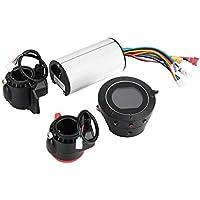 DEWIN Controlador de Motor - Controlador de Scooter Controlador de Scooter eléctrico de Fibra de Carbono Pantalla LCD de Freno Accesorio de Bicicleta eléctrica