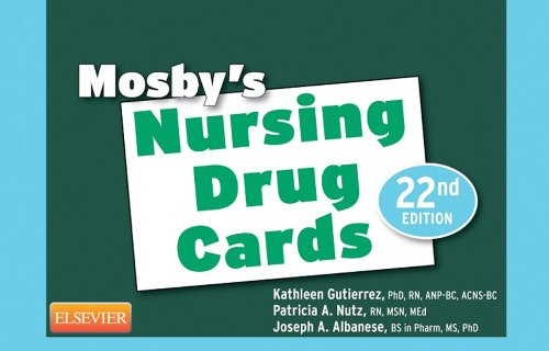 Mosby's Nursing Drug Cards E-Book (English Edition) (Drug Nursing Cards)