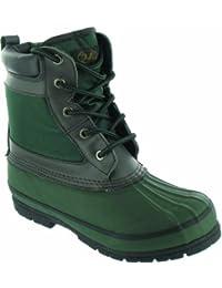 Highlander Morton Olive/Brown Size 10 - Calzado de zapatillas de senderismo para hombre