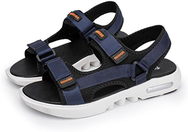 Mens Sandalen Klettverschluss Sport Walking Open Toe Sandalen Flip Flops   für Outdoor Frühjahr Reisen zu Fuß