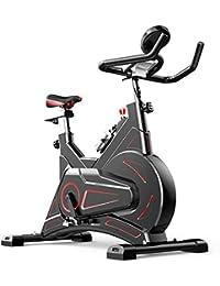 Ejercicio bicicleta estacionaria Inicio de ciclo con pantalla LCD de pantalla velocidad Distancia Tiempo de Silencio se activa por correa entrenamiento del entrenamiento de cardio fitness Machie