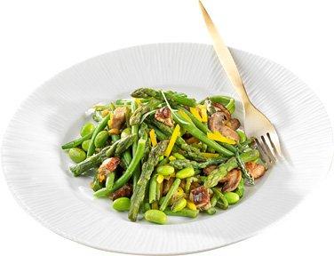 TOUPARGEL - Poêlée festive petits légumes et champignons - 450 g - Surgelé