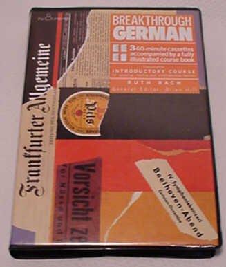 Breakthrough German (Breakthrough Language S.) Book & cassette Pack