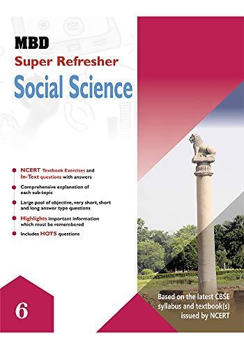 MBD SUPER REFRESHER SCIENCE - VI (CBSE) (E) (English Edition)