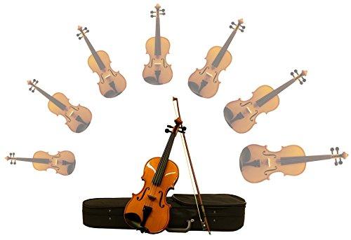 Studenten/Kinder Geige im Set mit Bogen und Etui 1/32bis 4/4(1/16)