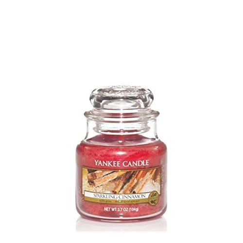 Yankee Candle Glaskerze, klein, Sparkling Cinnamon