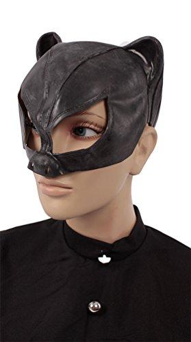 Kostüm Kinder Catwoman (Karneval Klamotten Kostüm Maske Catwoman Zubehör Halloween)