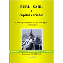 EURL-SARL à capital Variable