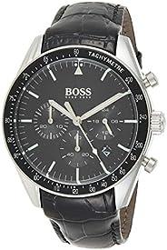 هوغو بوس ساعة رسمية للرجال , جلد , 1513625