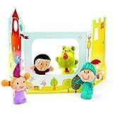 Lilliputiens - 86618 - Marionnettes à doigts et décor contes