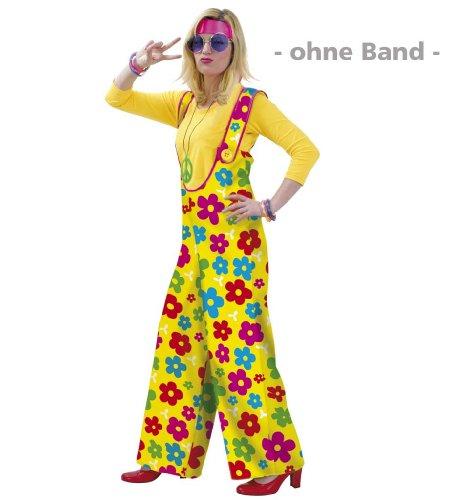 Fasching Karneval Flower Power Hose für Sie und Ihn in Größe L