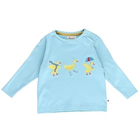 Piccalilly Bio-Baumwolle Blau Unisex Winter Ente Hemd
