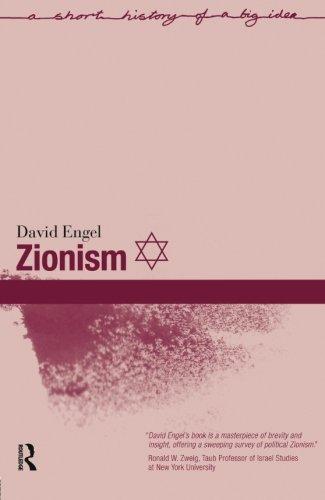 Zionism (Short Histories of Big Ideas)