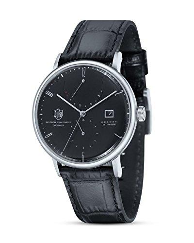 Dufa Deutsche Uhrenfabrik Unisex Analog Quarz Uhr mit Leder Armband Albers DF-9010-01 Automatik