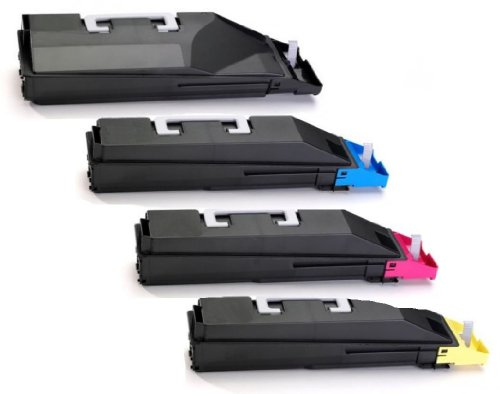 Preisvergleich Produktbild 4x Alternativer Eurotone Toner TK-580 XXL Set für Kyocera FS-C5150 DN / FS-C5150DN / FSC 5150 DN – Alternative ersetzt TK580 TK580K TK580C TK580M TK580Y