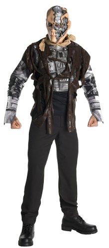 Das Kostüm Terminator - Rubies Deutschland 3 889144 XL - Terminator 4 Deluxe T600 Größe XL