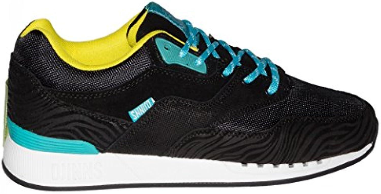 Djinns Schuhe Rough Run Tiger Leather