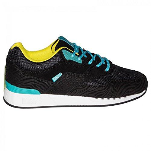 Djinns Schuhe Rough Run Tiger Leather, -