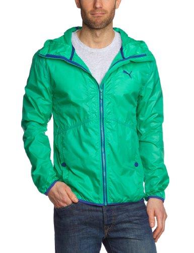 PUMA ActivePack - Giacca antivento da uomo, Verde (simply green-clematis blue), M