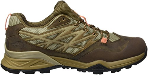 The North Face Hedgehog Hike Goretex, Chaussures de randonnée à tige basse femme Marron