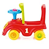 Enlarge toy image: My First Ride Kids Push Along Car (Red)
