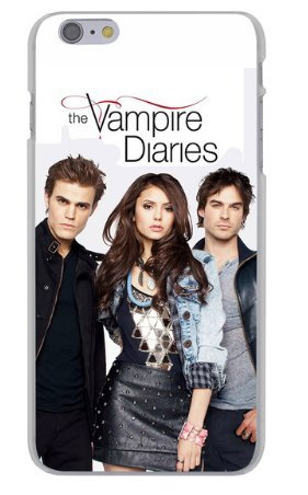 Coque iPhone 6/6S Série Vampire Diaries Blanche, coque iphone The Vampire Diaries