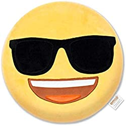 Emoji Cojín Bordado Gafas Oficial (PIW_Sunglasses_EB)
