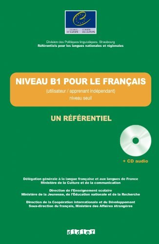 Un Referentiel: Niveau B1 Livre + CD by Jean-Claude Beacco (2011-05-04)