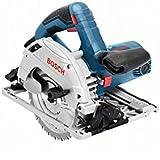 Professional Bosch GKS 55 GCE + sierra circular de mano, HM-hoja de sierra circular, 1350 W, L-BOXX, 0601682101