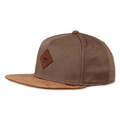 Djinns Herren Caps / Snapback Cap 6P Canvas khaki Verstellbar Canvas-cap Khaki