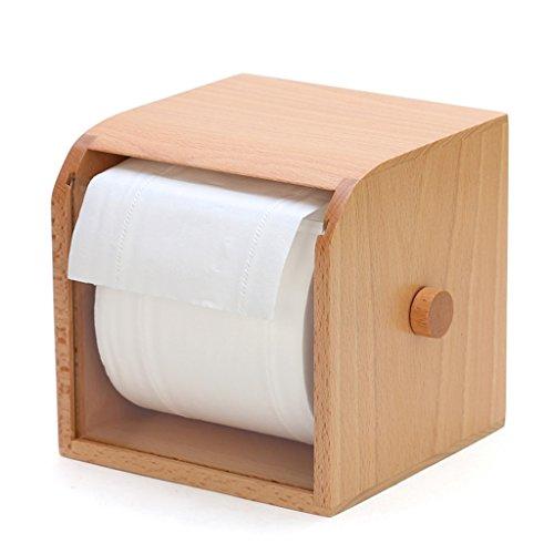 Desktop Papier Handtuch Boxen Wohnzimmer Rolls Of Paper Boxen Europas - Stil Kreative kreative Rollenpapier Handtücher Holz Papierkisten ( farbe : Without Rod )