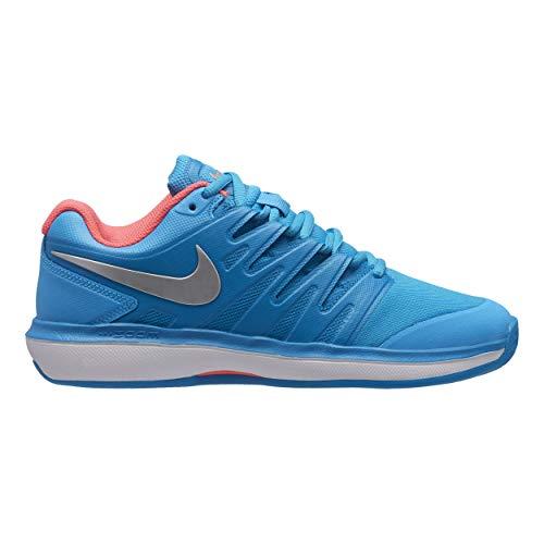 Nike Donna Air Zoom Prestige Clay Scarpe Da Tennis Scarpa Per Terra Rossa Blu - Corallo 40,5