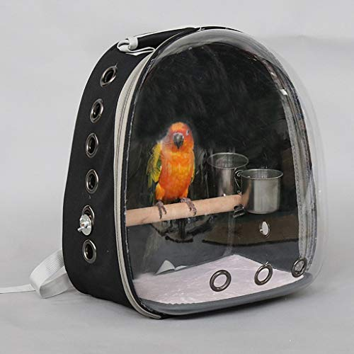 Plastic Durable Bird Cage Vogelkäfig Rock Classic Parrot Cage Outdoor-Flugkäfig Indoor-Vogelkäfig Bird Bath Cage Inklusive Fütterungsbecher Upgrade, geeignet für Papagei/Vogel/Sittich