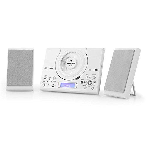 Auna MC-120 White Edition - Minicadena