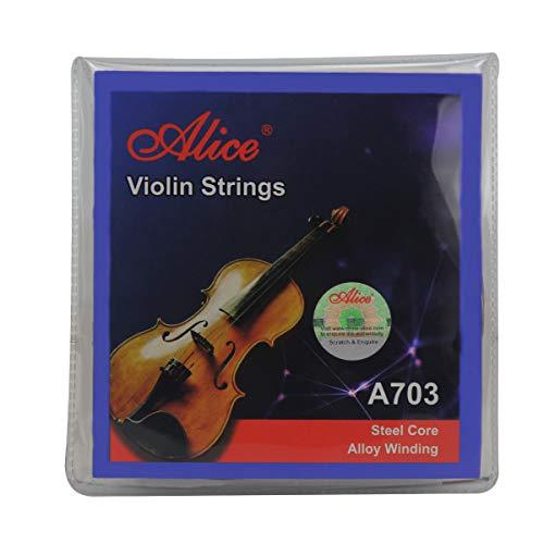 Alice Violin Saitensatz E / a / d / g Violin Saiten für Größe 1/4 1/2 3/4 4/4 Set Ball