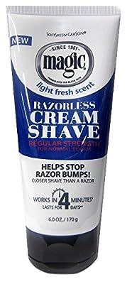 Magic Hair Removal & Shaving Cream Regular Strength For Normal Beards 170g