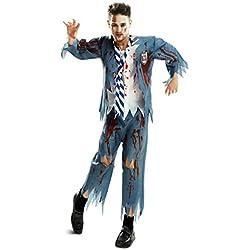 My Other Me Me-202545 Disfraz de estudiante zombie chico para hombre, S (Viving Costumes 202545