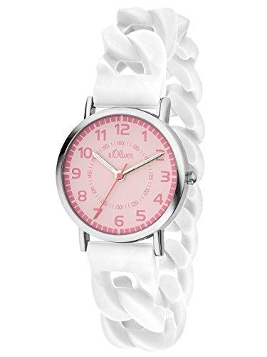 s.Oliver Time Mädchen-Armbanduhr SO-3430-PQ