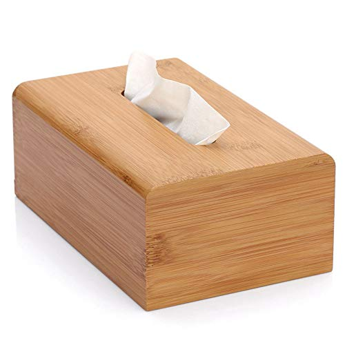 Caja De Tejido De Bambú Grande Rectangular Toalla Caja De La Cubierta/Caja De Almacenamiento De Bambú/Toalla De Papel Caja De Almacenamiento