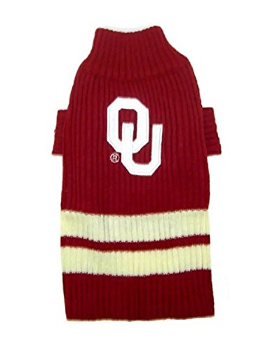 Pets First Sports Fan NCAA Oklahoma Sooners Hund Pullover Xtra Klein