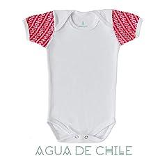 Body niño, 12 a 18 M, color rojo bordado hecho 100% a mano, ropa para bebe.