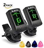 Best Guitar Tuners - [2 Pack] JOYO JT-06 Clip on Tuner Review