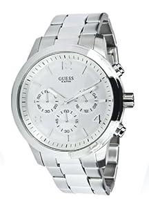 Reloj de mujer Guess Spectrum W12605L1 de cuarzo, correa de acero inoxidable, color plata de Guess