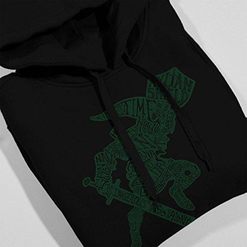 CaLinkraphy Legend Of Zelda Women's Hooded Sweatshirt Black