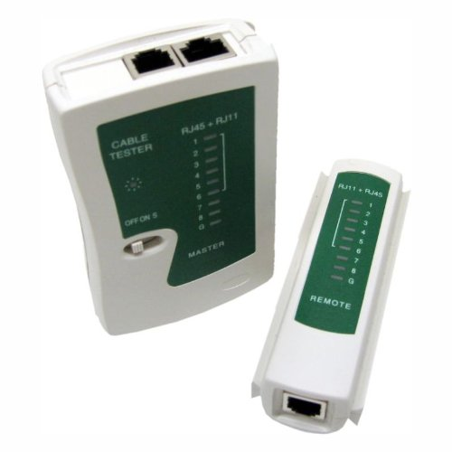 Moelissa RJ45 and RJ11 Network Cable Tester