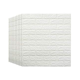 papel pintado,desmontables ladrillo pegatinas de pared aislamiento ac/ústico auto adhesivo del papel pintado for la sala de estar 3D ladrillo pantalla dormitorio TV Pared 30.32inch x 27.56inch bar