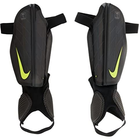 Nike Herren Schienbeinschoner Protegga Flex, Black/Volt, L, SP0313-010 (American Apparel Deutschland)
