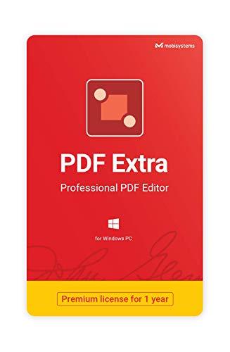 PDF Extra - Professioneller PDF Editor, zum Erstellen, Bearbeiten, Schützen, Annotieren, Füllen und Signieren von PDFs - 1 PC / 1 Benutzer / 1 Jahr Abo
