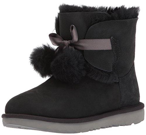 UGG® - Women´s Gita - Mädchen Lammfell Stiefelette mit Pompons 1017403 (Stiefel Kinder Uggs)